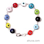 Stylish Multicolor Evil Eye Bracelet